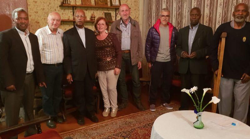 Foto di gruppo con Mons. Venanzio